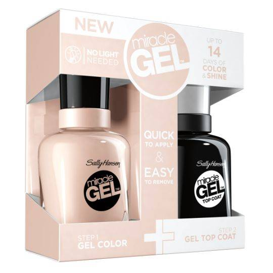 Sally Hansen Miracle Gel Duo Pack Birthday Suit