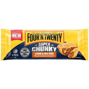 Four N Twenty Super Chunky Lamb & Vegetable 4pk