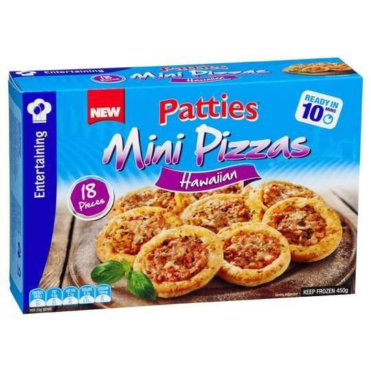 Patties Mini Pizza Hawaiian