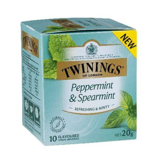 Twinings Peppermint & Spearmint Tea Bags