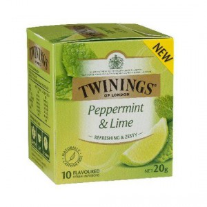 Twinings Peppermint & Lime Tea Bags