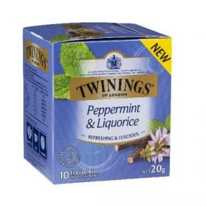 Twinings Peppermint & Liquorice Tea Bags