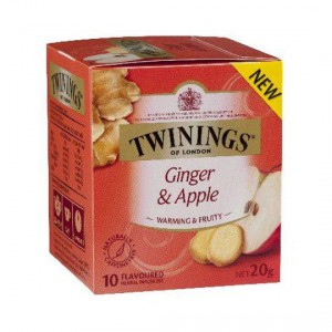 Twinings Ginger & Apple Tea Bags