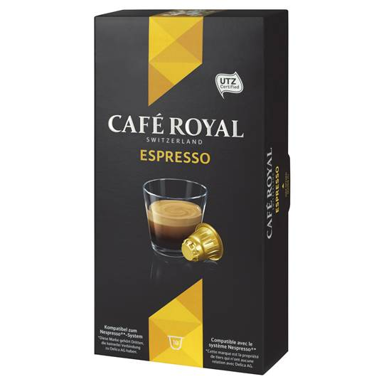Cafe Royal Espresso Capsules