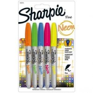 Sharpie Marker Neon Fine Assorted