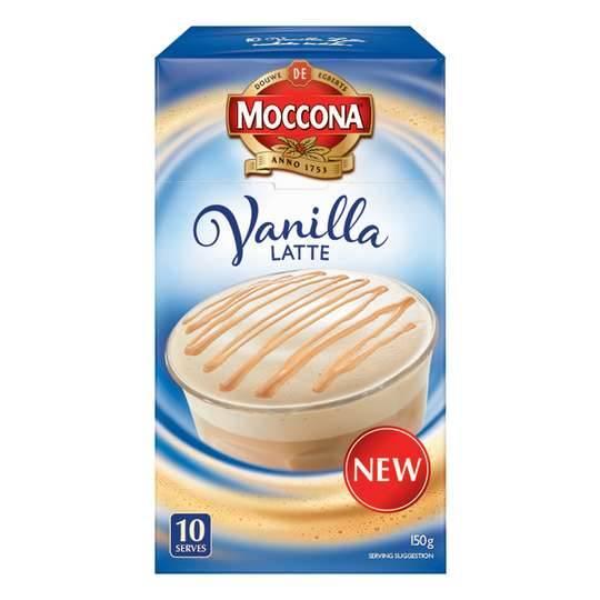 Moccona Vanilla Latte