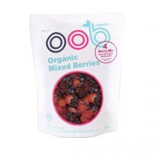 Oob Organic Frozen Mixed Berries