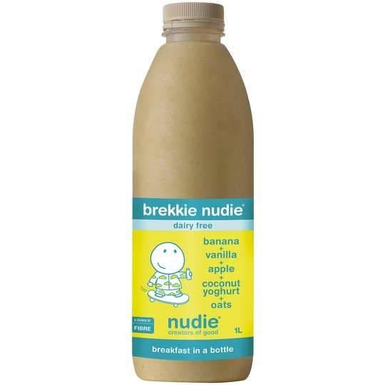 Brekkie Nudie Banana & Vanilla & Apple & Coconut Yoghurt & Oats