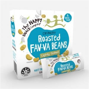 The Happy Snack Company Fav-va Beans Lightly Salted