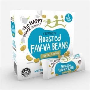 The Happy Snack Company Fav-va Beans Lightly Salted