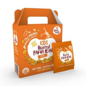 The Happy Snack Company Kids Fav-va Beans Bbq