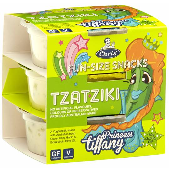 Chris' Dips Princess Tiffany Tzatziki
