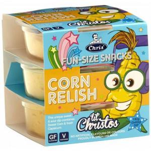 Chris' Dips Lil Christos Corn Relish