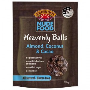 Golden Days Nude Food Balls Almond & Coco