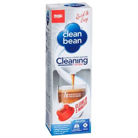Map Clean Bean Cleaning System