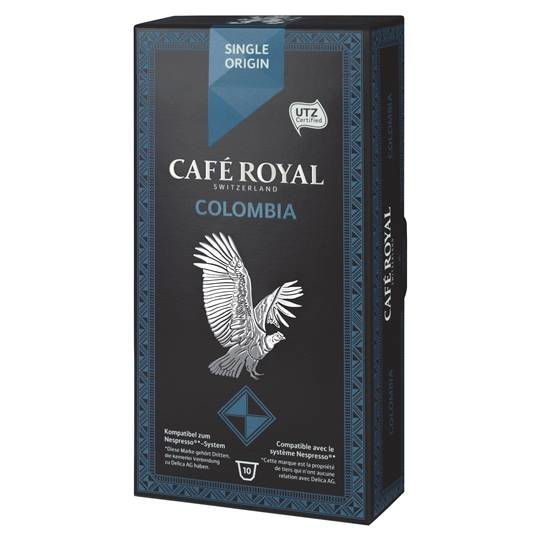 Cafe Royal Single Origin Colombia Capsules