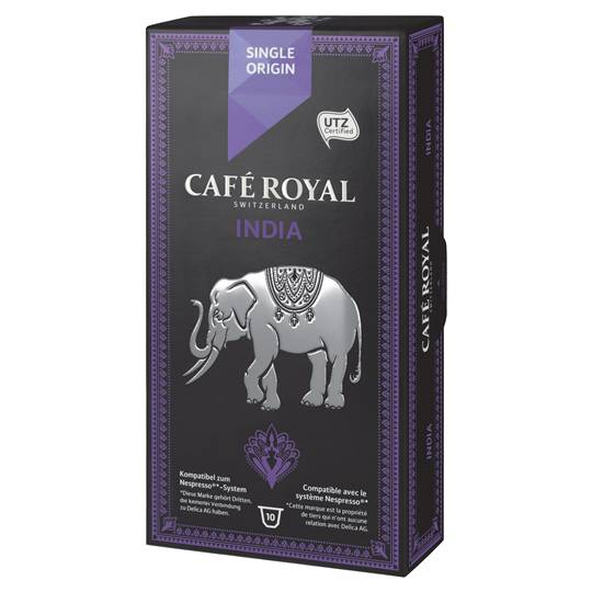 Cafe Royal Single Origin India Capsules