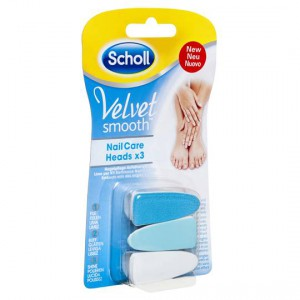 Scholl Velvet Smooth Nail Care Heads