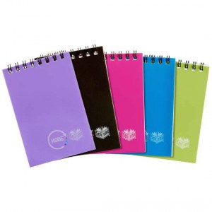 Spirax Pocket Notebook 76x112mm Assorted Colours