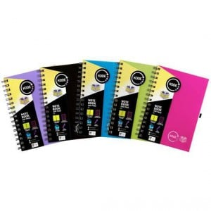 Spirax Notebook A5 Assorted Colours