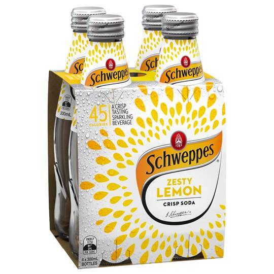 Schweppes Dry Zesty Lemon