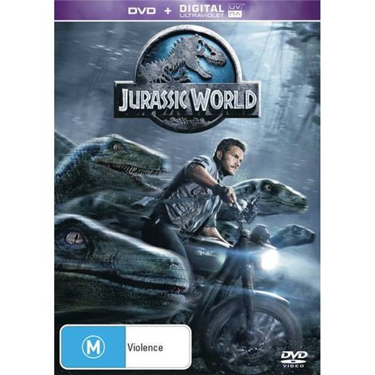 Jurassic World Dvd Uv