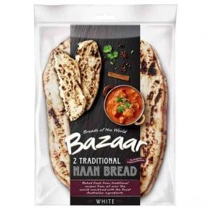 Bazaar Naan Bread Plain