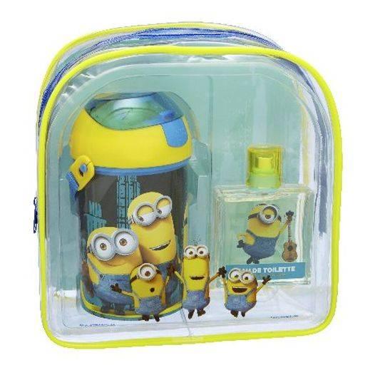 Minions Eau De Toilette Backpack Set