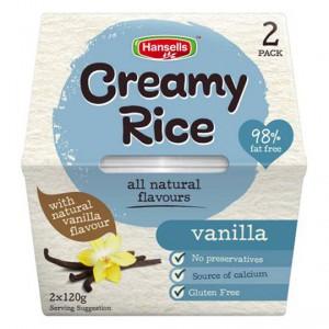 Hansells Creamy Rice Vanilla