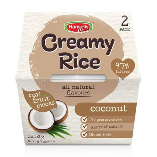Hansells Creamy Rice Coconut