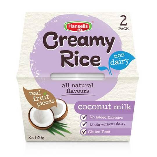 Hansells Creamy Rice Coconut Dairy Free