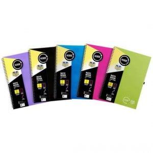 Spirax Notebook A4 Assorted Colours