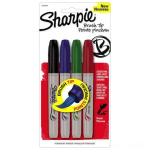 Sharpie Brushed Assorted