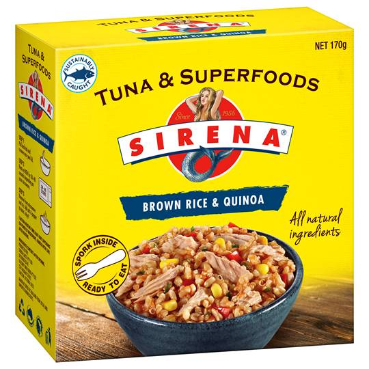 Sirena Brown Rice & Tuna Superfood Quinoa