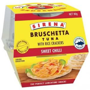 Sirena Bruschetta & Crackers Sweet Chilli