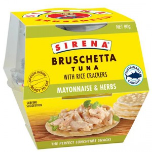 Sirena Bruschetta & Crackers Mayo Herb
