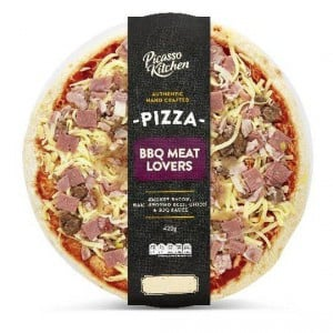 Picasso Meat Lovers Pizza