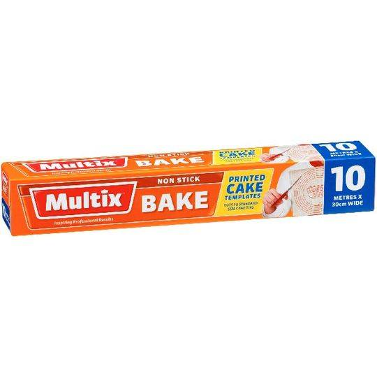 Multix Bake Paper Template