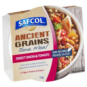 Safcol Ancient Grains Sweet Onion & Tomato