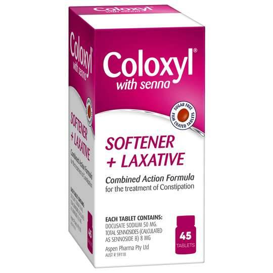 Coloxyl & Senna Tablets