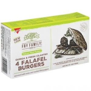 Fry's Falafel Burgers With Quinoa & Fresh Cilantro