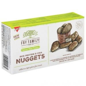 Fry's Nuggets With Rice Protein & Chia