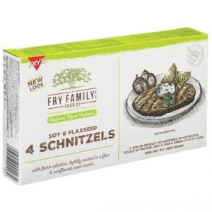 Fry's Schnitzels With Soy & Flaxseed