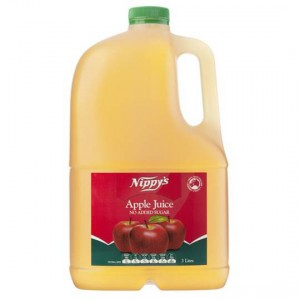Nippys Drink Apple Juice Clear