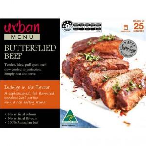 Urban Menu Butterflied Beef