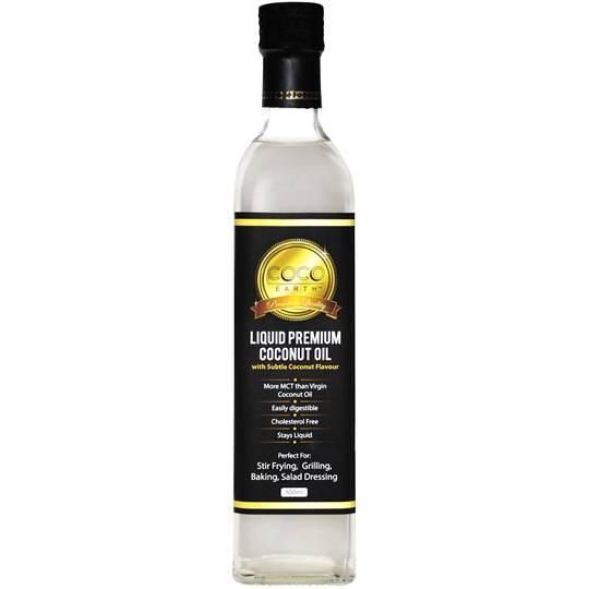 Coco Earth Premium Liquid Coconut Oil