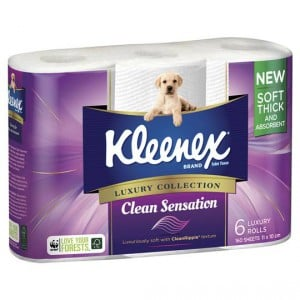Kleenex Clean Sensation Toilet Tissue