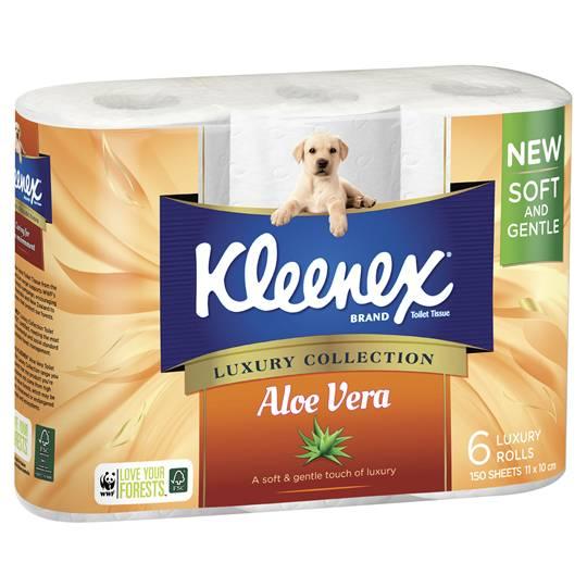 Kleenex Aloe Vera Toilet Tissue
