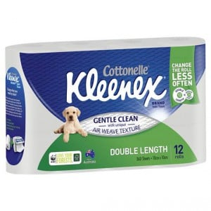Kleenex Cottonelle Toilet Tissue Double Length