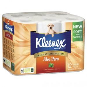 Kleenex Toilet Tissue Aloe Vera